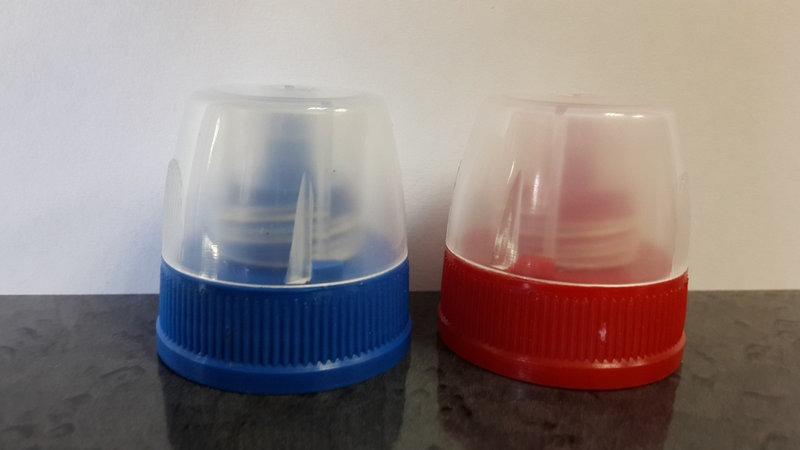 Крышка с защитой от вскрытия для бутылки типа Доместос