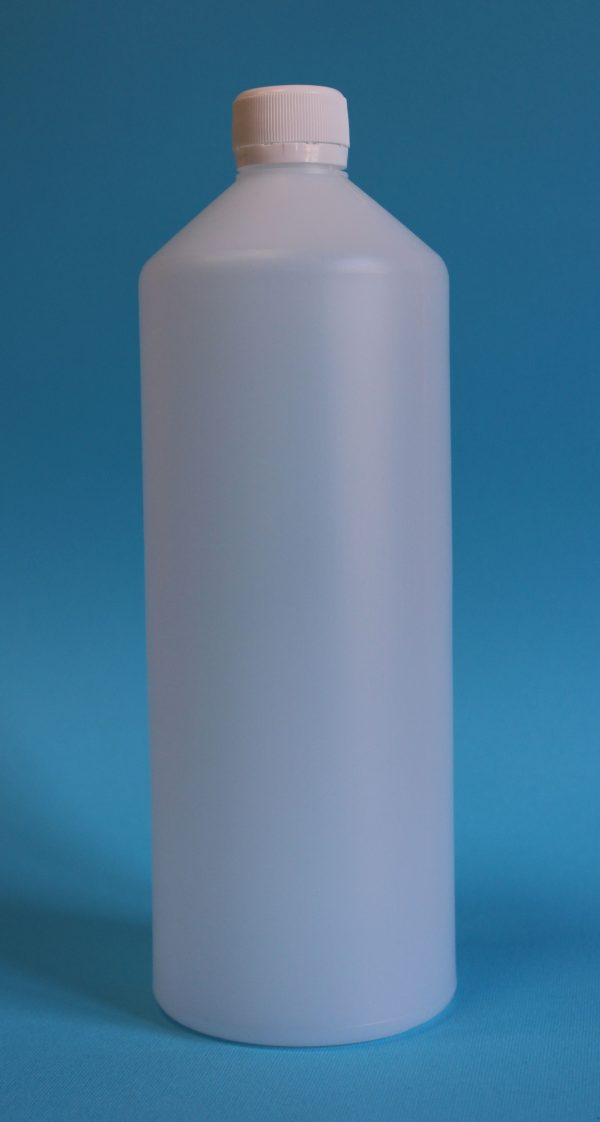 Бутылка химическая 1л натуральная